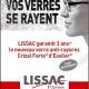 Lissac revient à la télévision avec l'opération Crizal Forte