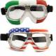Lunettes de moto Nannini : look d'antan façon flags