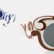 Les lunettes de soleil baroques de Prada
