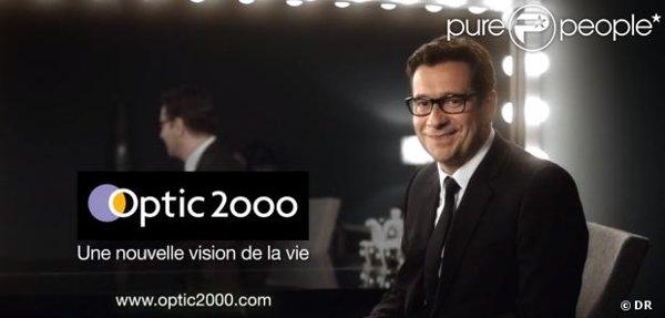 8e0e406246 Optic 2000 s'offre Laurent Gerra pour sa nouvelle campagne de publicité