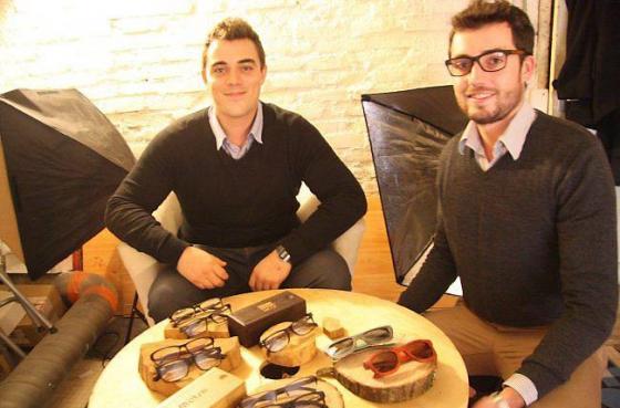 Deux Rennais se sont lancés, avec succès, dans le business des lunettes en bois